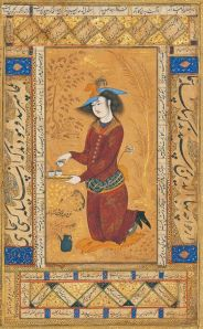 Riza Abbasi- Saki