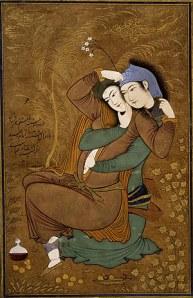 Riza Abbasi- Two Lovers