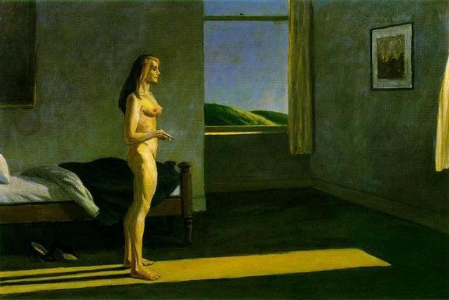 Edward Hopper- O Femeie in soare