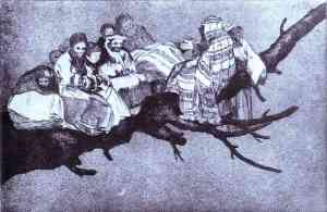 goya-Disparate 3: Disparate Riduculo (Ridiculous Foolishness)
