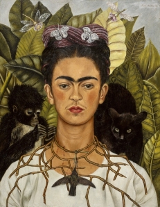 Kahlo-self-portrait with thorn 1940