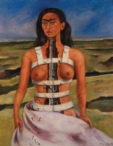 Kahlo-the broken column 1944