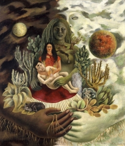 Kahlo-the love embrace 1949