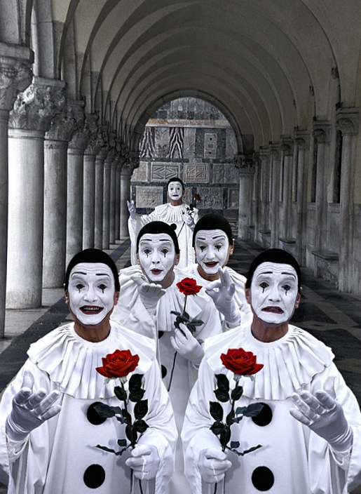 mimos felices, pantomima