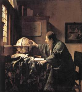 Vermeer-The Astronomer