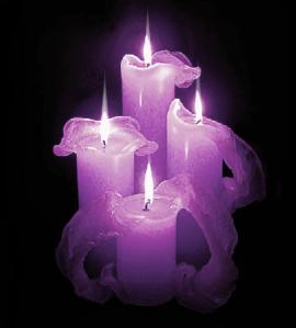 candele- vînare de vînt, zădărnicii