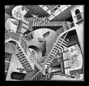 M.C.Escher-relativity