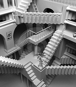 M.C.Escher-stairs thumb