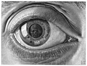 M.C.Escher-eye