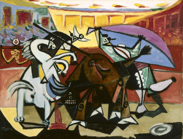 Picasso-Bullfight