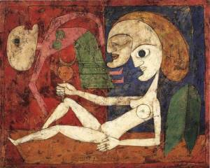 Victor_Brauner_1946_XX_The_Triumph_of_Doubt